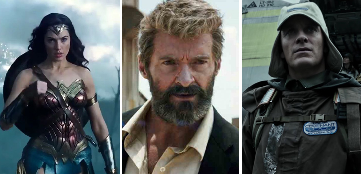 From Logan to Dunkirk, preview all the most anticipated spring & summer movies!