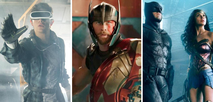 Ready Player One, Thor: Ragnarok, and Justice League top Tanner's Comic-Con roundup!