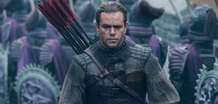 First trailer for The Great Wall features Matt Damon fighting monsters