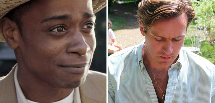 Get Out and Call Me By Your Name win big at the WGAs