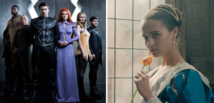 Marvel's Inhumans: The IMAX experience and Tulip Fever make our What to Watch weekend preview