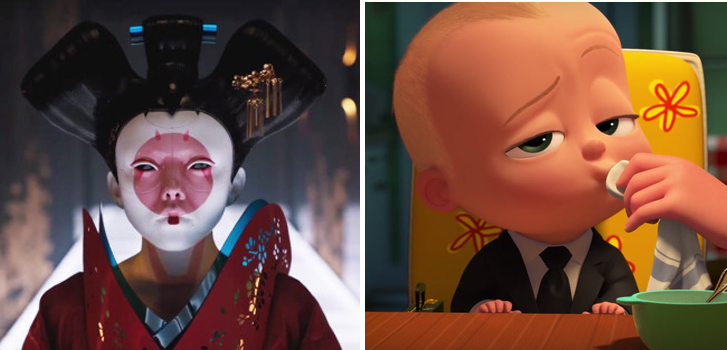 Ghost in the Shell and The Boss Baby top Tanner's What to Watch weekend preview