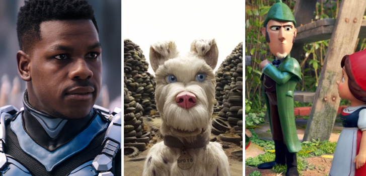 Pacific Rim: Uprising, Isle of Dogs and Sherlock Gnomes tops our What to Watch weekend preview