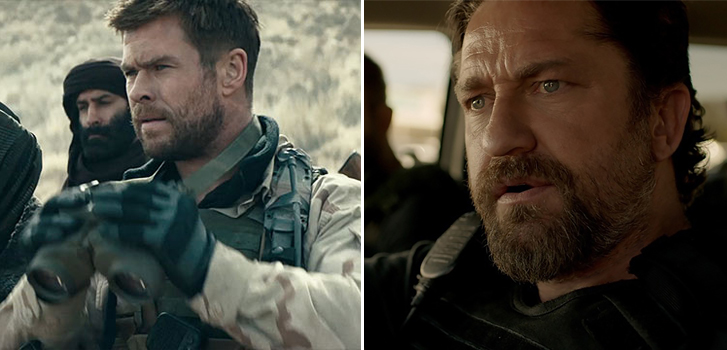 12 Strong and Den of Thieves top our What to Watch weekend preview