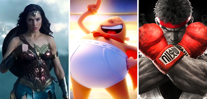 Wonder Woman, Captain Underpants and Northern Fights top Tanner's What to Watch weekend preview