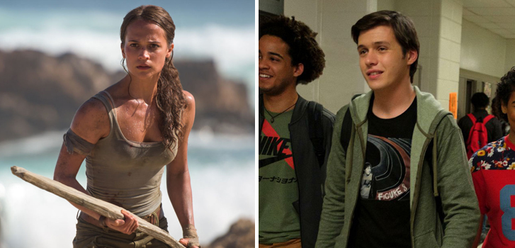 Tomb Raider and Love, Simon top our What to Watch weekend preview