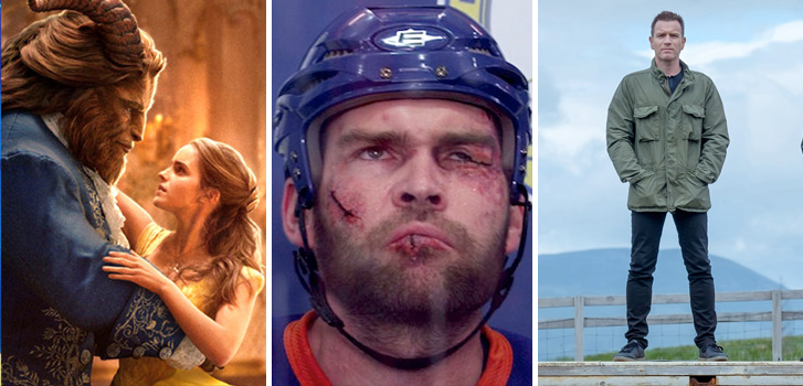 Beauty and the Beast, Goon 2 and T2: Trainspotting make Tanner's What to Watch weekend preview