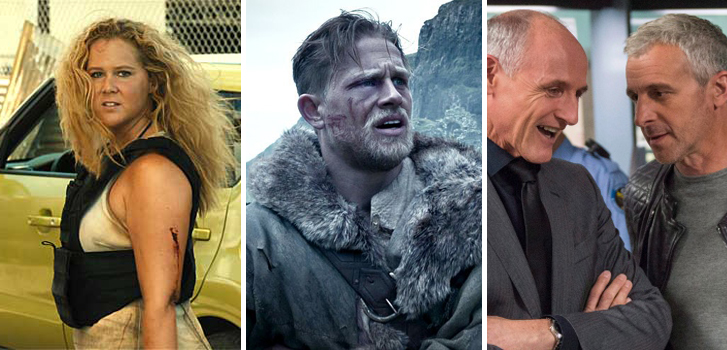 Snatched, King Arthur: Legend of the Sword and Bon Cop, Bad Cop 2 make Tanner's What to Watch weekend preview