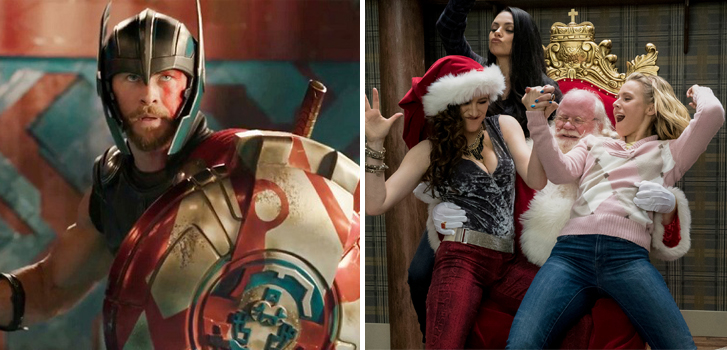 Thor: Ragnarok and A Bad Moms Christmas tops our What to Watch weekend preview
