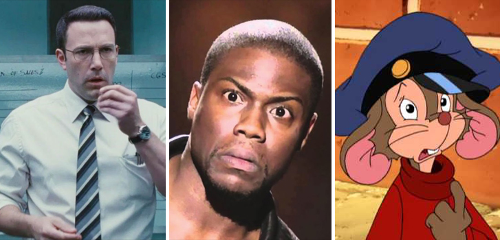 The Accountant, Kevin Hart: What Now? and An American Tail top Tanner's What to Watch weekend preview