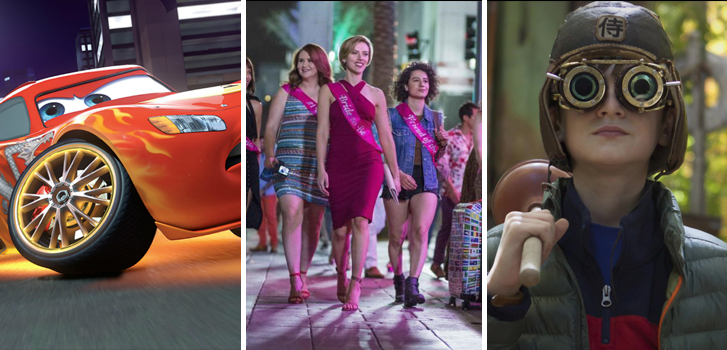 Cars 3, Rough Night and The Book of Henry make Tanner's What to Watch weekend preview