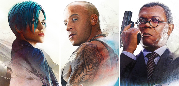 New trailer and posters for XXX: Return of Xander Cage features Vin Diesel and the cast in action