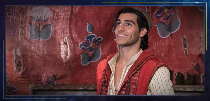 Aladdin star Mena Massoud is making our wish of representation in film come true