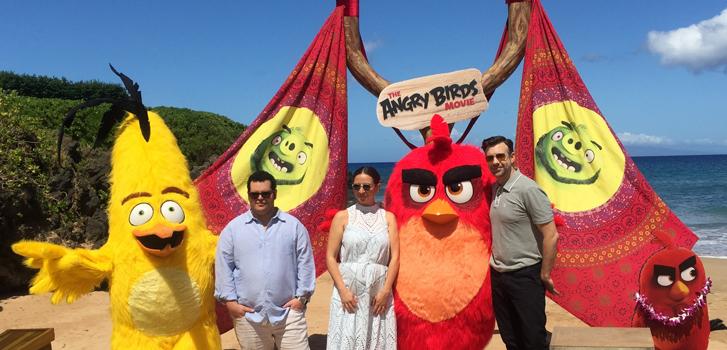 the angry birds movie, jason sudeikis, josh gad, maya rudolph,