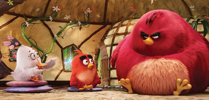 the angry birds movie, jason sudeikis, maya rudolph, josh gad,