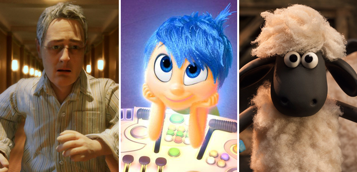 Charlie Kaufman, Pete Docter, and the Oscar nominees for Best Animated Feature talk facing their fears