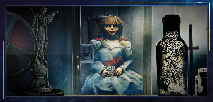 Welcome home, Annabelle: See what happens when we take The Conjuring's haunted doll home with us