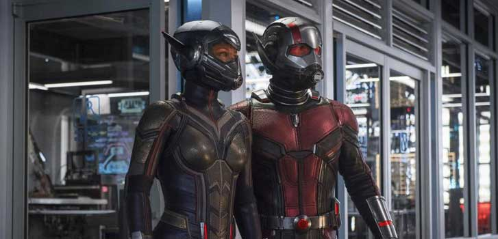 ant-man and the wasp, evangeline lilly, paul rudd, marvel studios