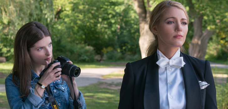 Blake Lively and Anna Kendrick dish on their characters in A Simple Favor, from the geeky to the surreal