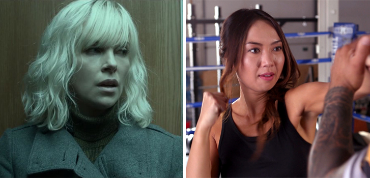Atomic Blonde: Brigitte Truong learns how to fight like Charlize Theron