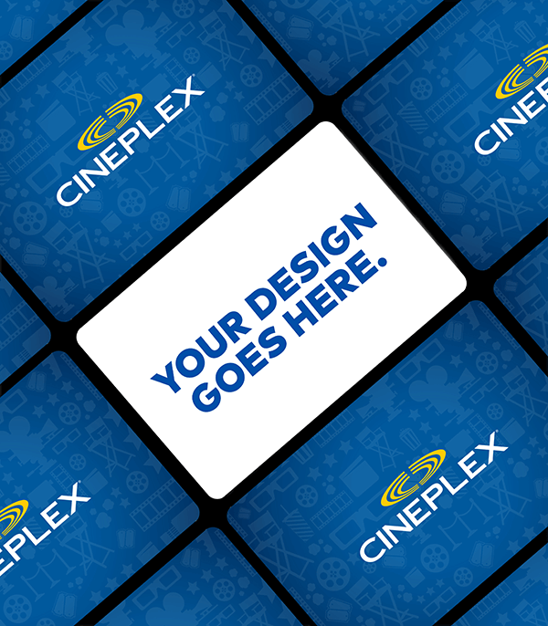 Cineplex Custom Gift Cards