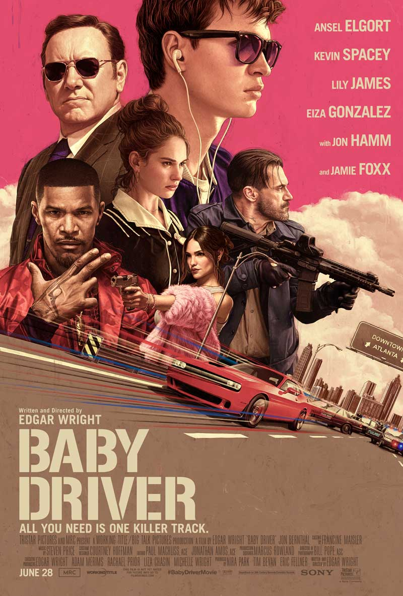 baby driver, cineplex