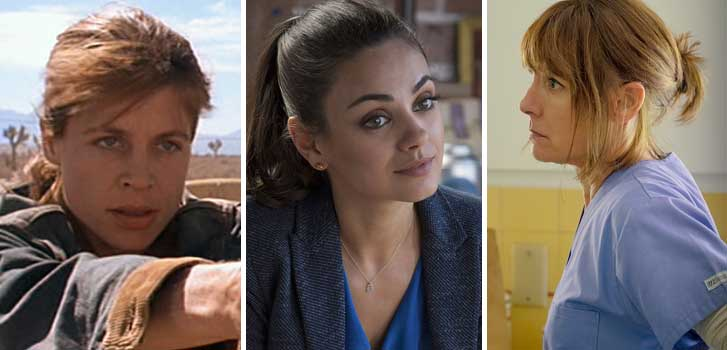 the terminator, bad moms, lady bird, mother's day