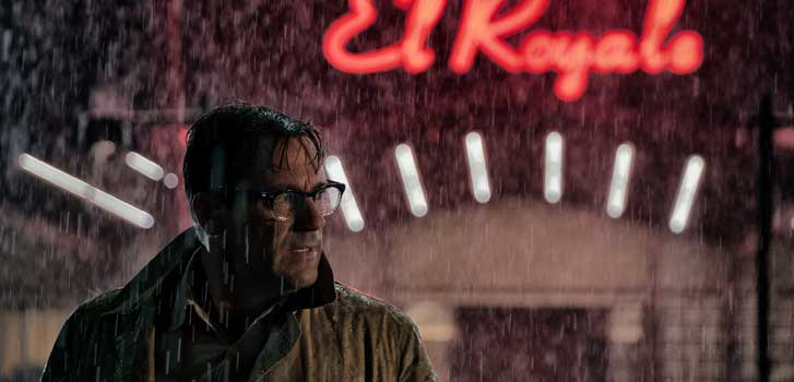 In Bad Times at the El Royale, you can check out anytime you like, but you can never leave