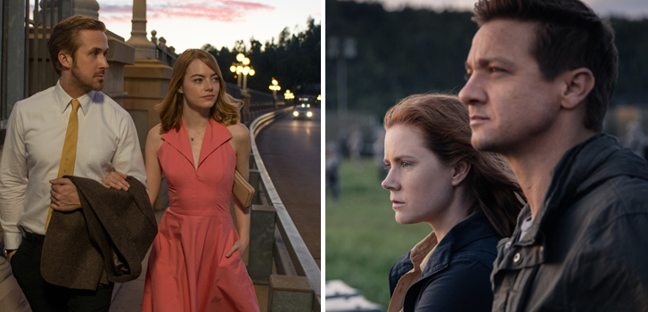 Arrival and La La Land lead the 2017 BAFTA nominations
