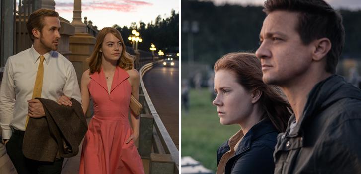 Arrival and La La Land lead the 2017 BAFTA nominations