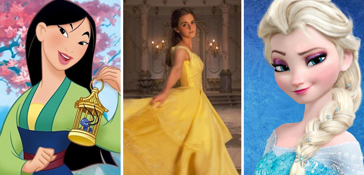 QUIZ: Can you guess these Disney Heroines?