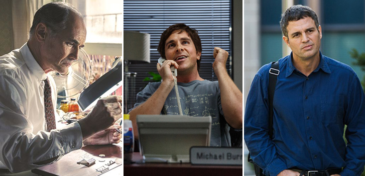 mark rylance, christian bale, mark ruffalo, bridge of spies, the big short, spotlight, images