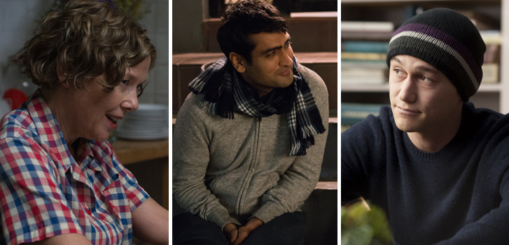 annette bening, Kumail Nanjiani, joseph gordon-levitt, 20th century women, the big sick, 50/50, autobiography, movie, film, true story,