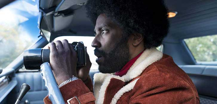 Spike Lee talks about changing the ending of BlacKkKlansman