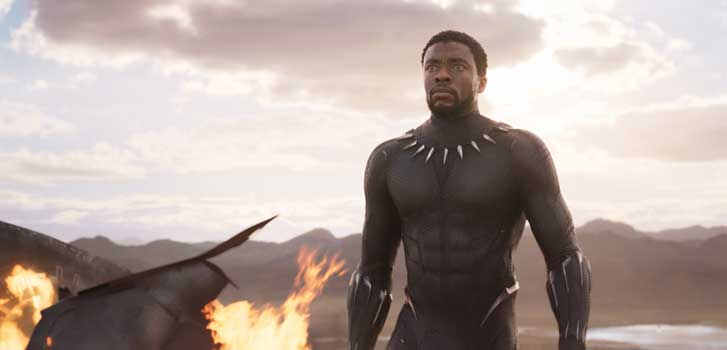 Chadwick Boseman talks becoming the new king of Marvel in Black Panther