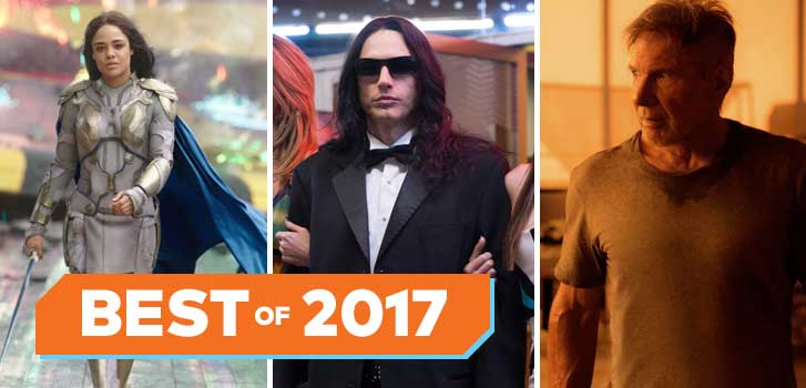 From Logan to Thor: Ragnarok, our list of the Best Movie Characters of 2017!