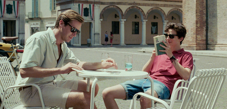 Timothée Chalamet and Armie Hammer talk about their relationship in Call Me By Your Name