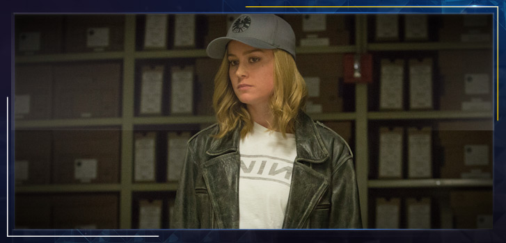 Brie Larson takes us behind the scenes to introduce Captain Marvel