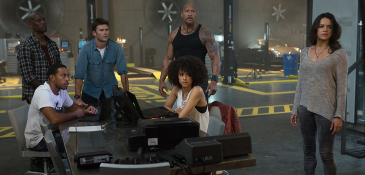 the fate of the furious, dwayne johnson, the rock, the fast and the furious