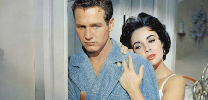 cat on a hot tin roof, paul newman, elizabeth taylor
