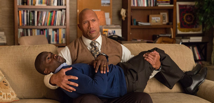 dwayne johnson, kevin hart, central intelligence,