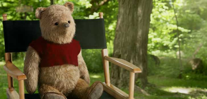 Winnie-the-Pooh and the cast of Christopher Robin discuss doing their own stunts, working with Ewan McGregor and… honey