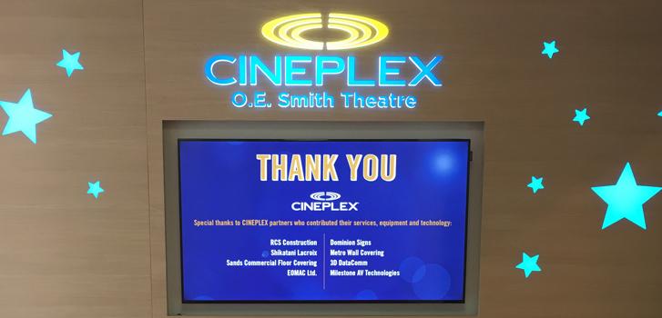 Cineplex, IWK, Theatre, Hospital, Halifax,
