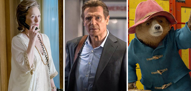The Post, The Commuter, Paddington 2 and all of the movies you can buy or rent at the Cineplex Store in April!