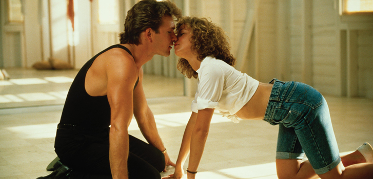 dirty dancing, patrick swayze, jennifer grey, anniversary, movie, film,