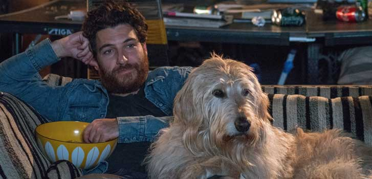 Adam Pally talks about his furry co-stars in Dog Days