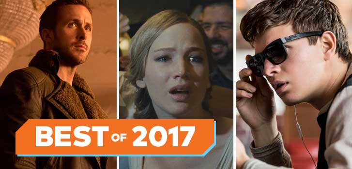 Blade Runner 2049, mother!, Baby Driver and more honoured in our Fan Favourite categories of 2017