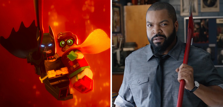 Clips from The Lego Batman Movie, Fist Fight and more make our daily round-up