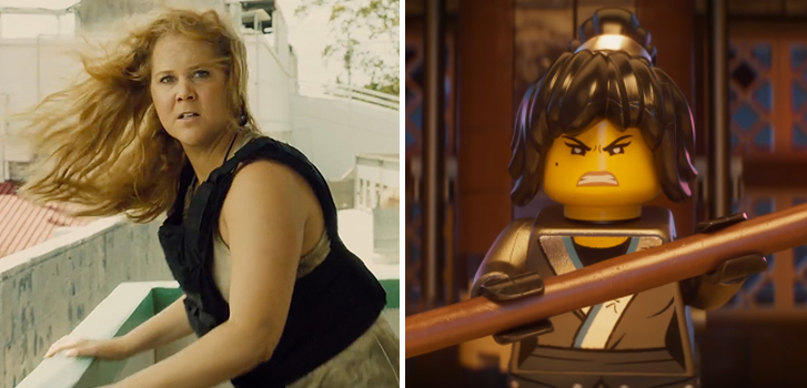 New trailer for Snatched and a teaser trailer for The Lego Ninjago Movie make our daily round-up