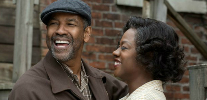 fences, denzel washington, viola davis, image